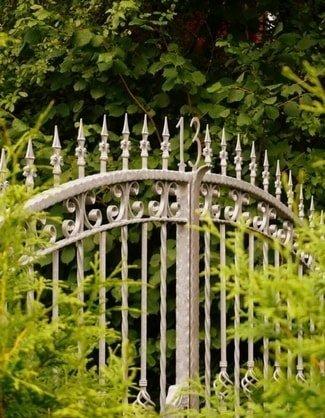 cancello zincato roma