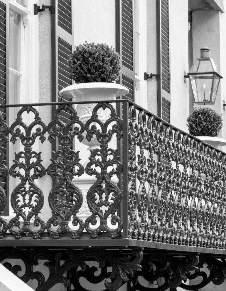inferriate per balconi